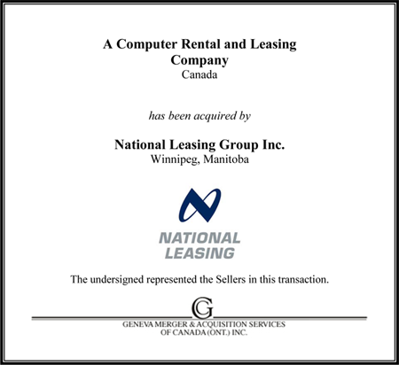 Computer Rental and Leasing Co.