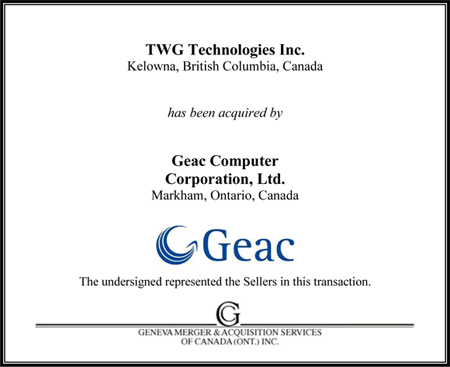 TWG Technologies Ltd.