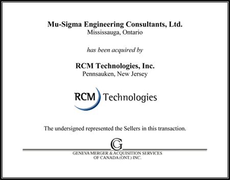 Mu-Sigma Engineering Consultants, Ltd.