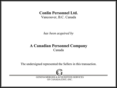 Conlin Personnel Ltd.
