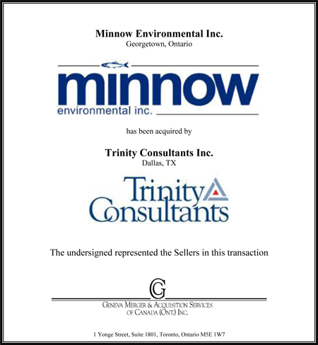 Minnow Environmental Inc.