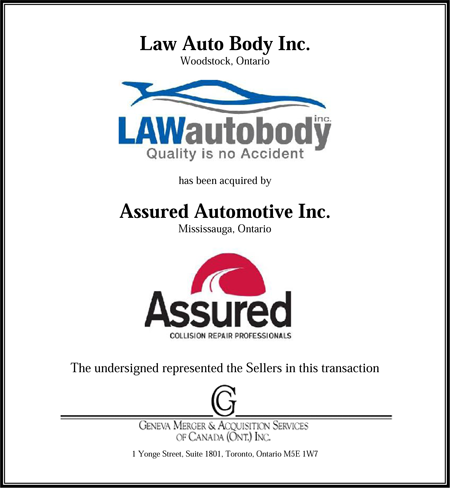 Law Auto Body Inc.