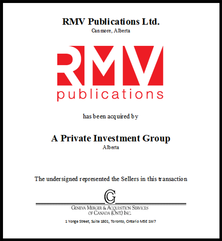 RMV Publications Ltd.