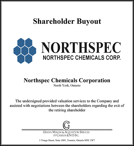 Northspec Chemicals Corporation